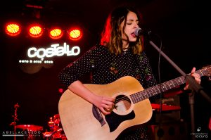 Chica Sobresalto en Costello Club. Fotos de Abel Acevedo