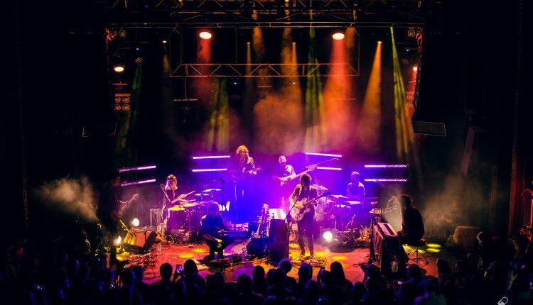 Bandada (Rufus T Firefly y Havalina) en Sala Joy Eslava. Fotos por Abel Acevedo
